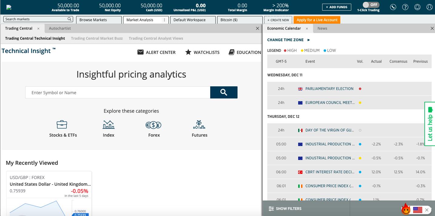 forex.com screenshot